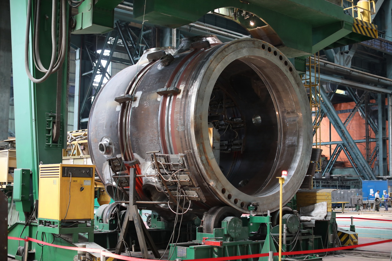 The upper reactor semivessel for Rooppur NPP has been assembled at Atommash